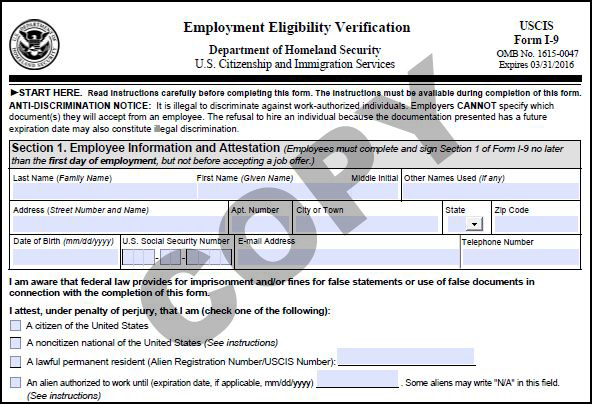 What Is Form I-9? - BCS Blog