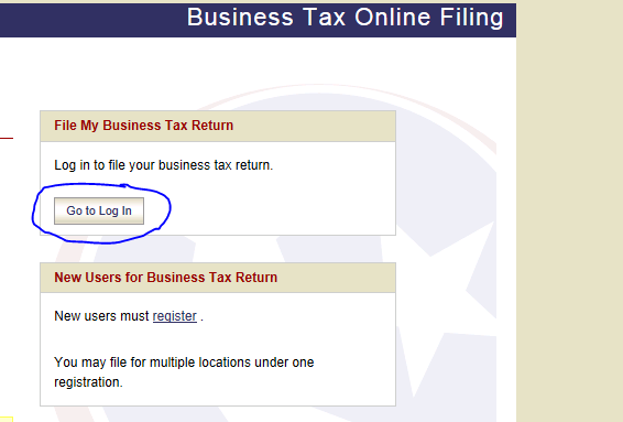 Electronically Filing and Paying TN Business Tax Licenses ...